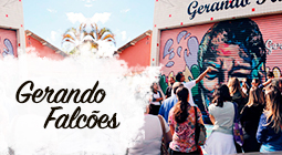 Gerando falcoes social top brands